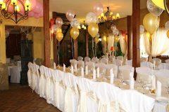 Esküvői díszterítés Kisduna Étterem és Panzió Dunaharaszti 2