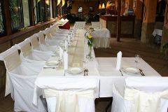 Esküvői díszterítés Kisduna Étterem és Panzió Dunaharaszti 6