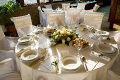 Esküvői díszterítés Kisduna Étterem és Panzió Dunaharaszti 10